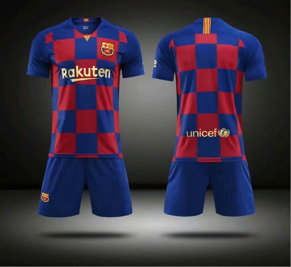 a8fecff5969 Without Logo 2019/20 Kids limited Barcelona Soccer Uniform Children  Football Kits