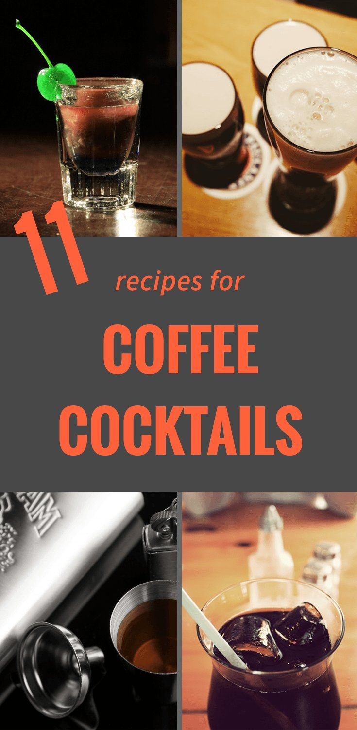 Coffee cocktails 20 amazing alcoholic coffee drink