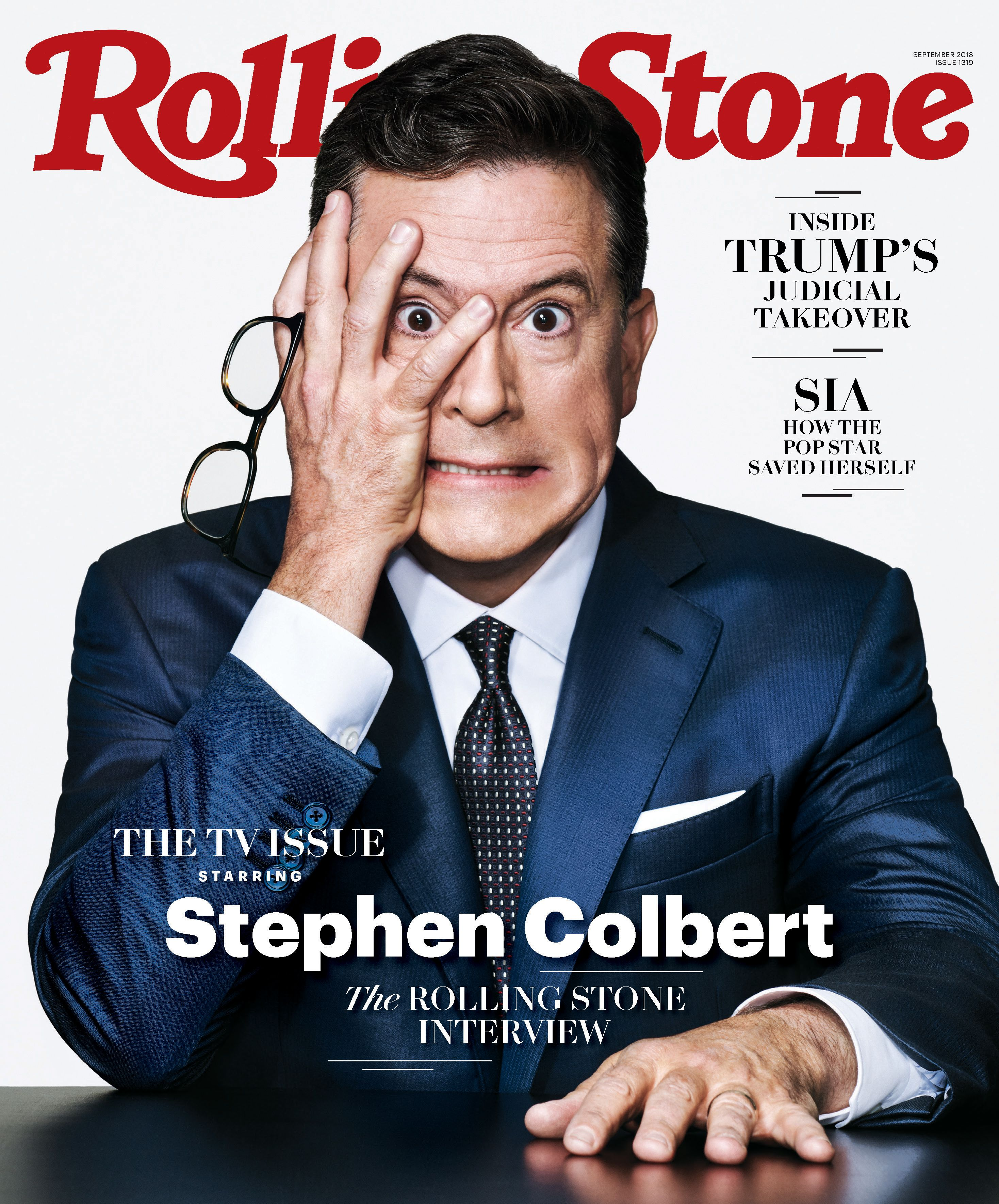 The Triumph of Stephen Colbert   On The Cover of Rolling