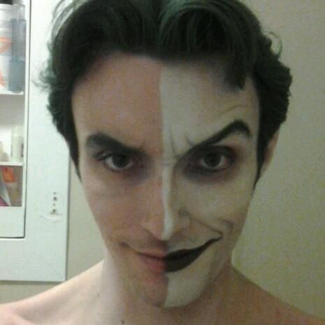 harley\'s+joker+makeup   Pin The Joker by Nicky Barkla picture to ...