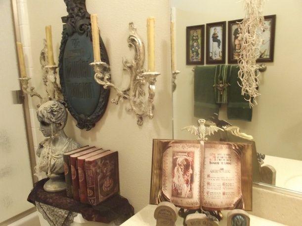 Haunted Mansion Style Bathroom All Hallows Eve
