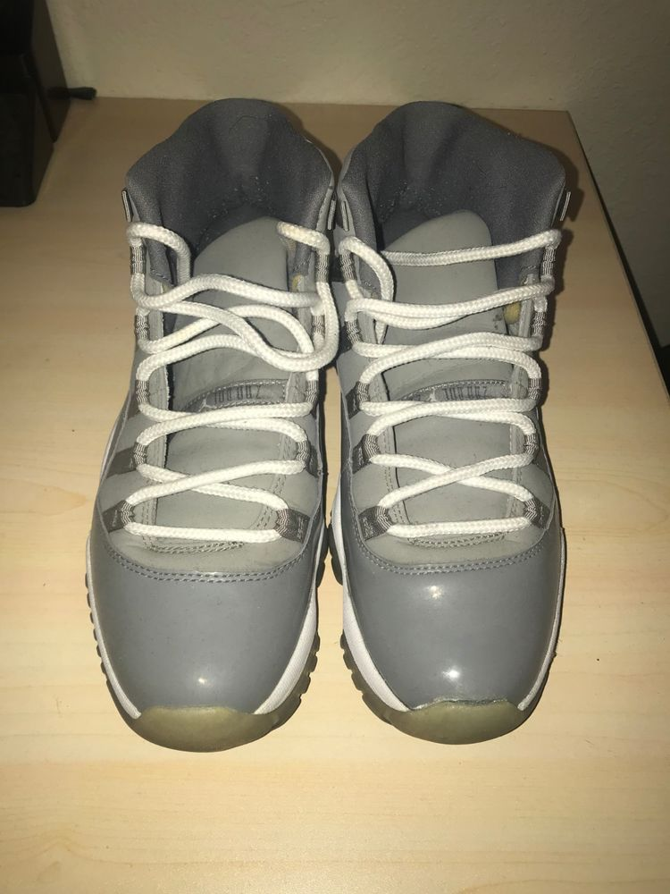 official photos e7527 8397b Air Jordan RETRO 11 XI 2010 COOL GREY SZ 9.5   USED 378037-001  fashion   clothing  shoes  accessories  mensshoes  athleticshoes (ebay link)