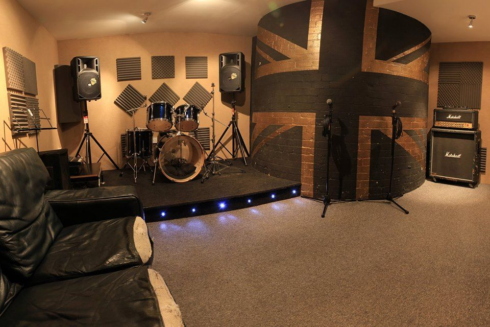 Band Practice Room Music Studio Room Music Room Home Music Rooms