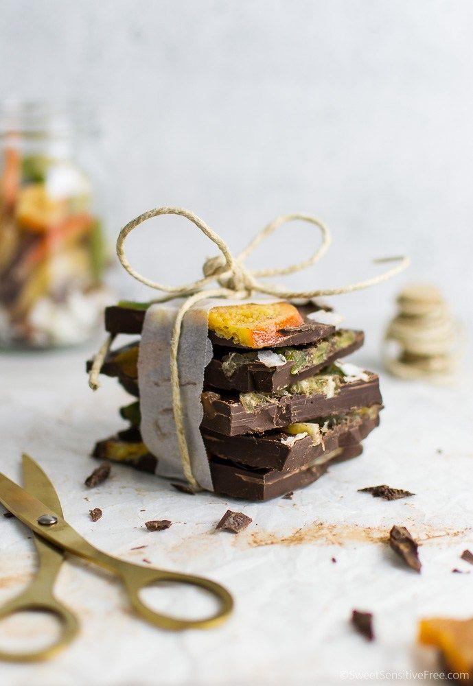 Christmas Gift Idea: Gluten free, Vegan Choco-Fruit Barks ...