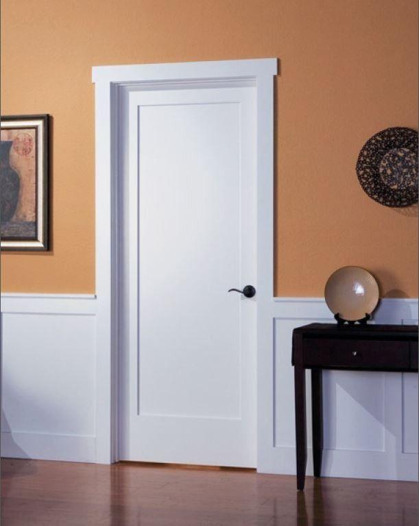 Single panel interior door shaker style google search for Interior door types