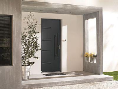 Quatre Tendances Pour Choisir Votre Porte D Entree Porche Entree Maison Entree Maison Moderne Entree De Maison Exterieur
