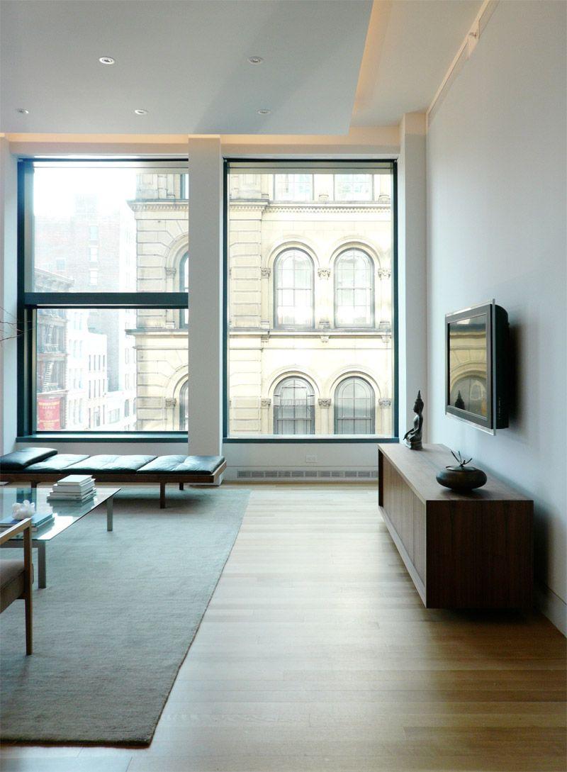 Apartment. Minimalist Modern Apartments In New York City ...