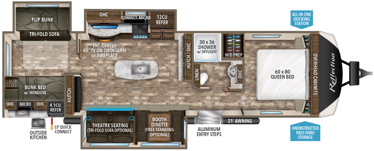 Pin On Travel Trailer Layouts