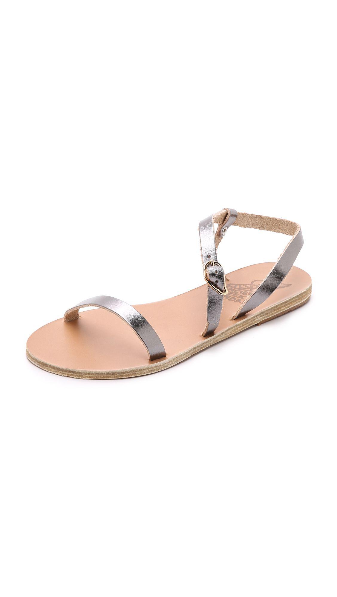 Ancient Greek Sandals Niove Sandals - Steel | SHOPBOP.COM saved by #ShoppingIS