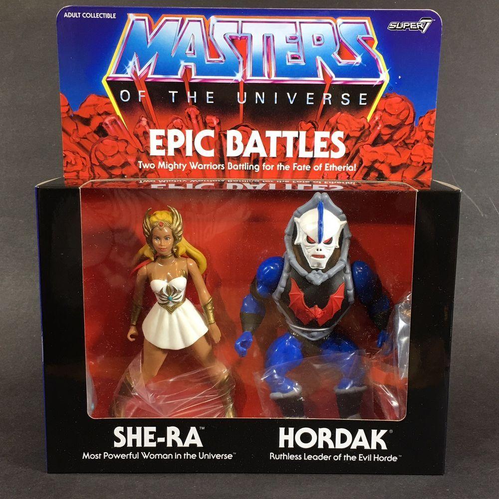 MOTU Masters Of The Universe Classics Club Grayskull Hordak Super 7 NEW MOTUC