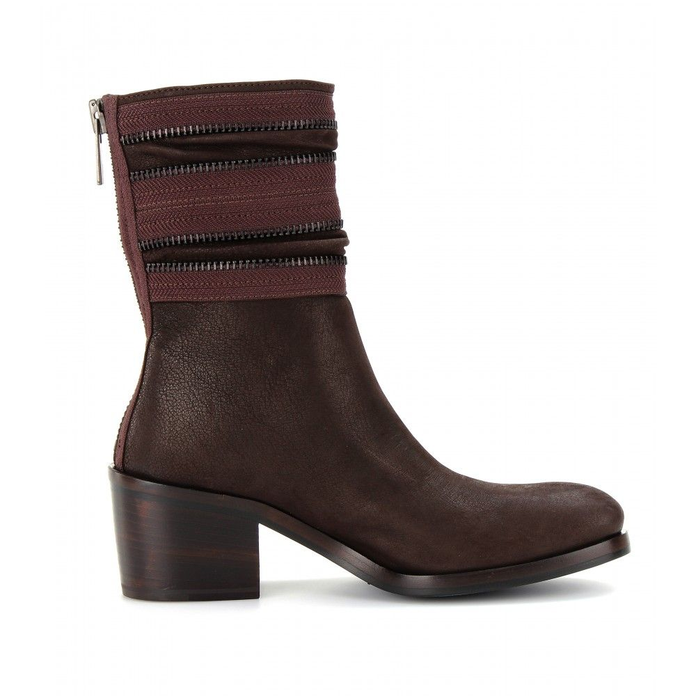 Clement Leather Ankle Boots : Haider Ackermann
