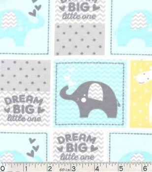 Nursery Flannel Fabric Dream Patch