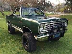 1976 Dodge Ramcharger SE Powerwagon 4x4 Convertible SUV Pickup