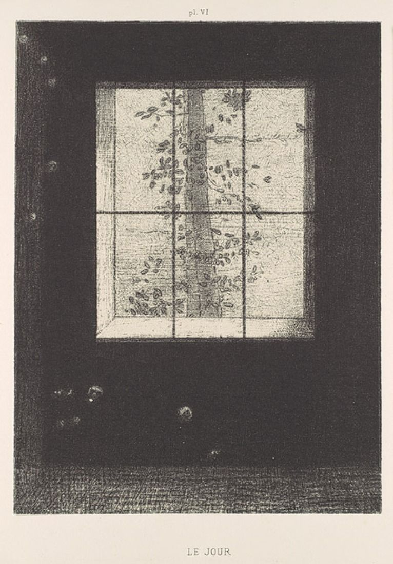Le Jours Dream Series By Odilon Redon Source Metmuseum Org Malerier Tegning