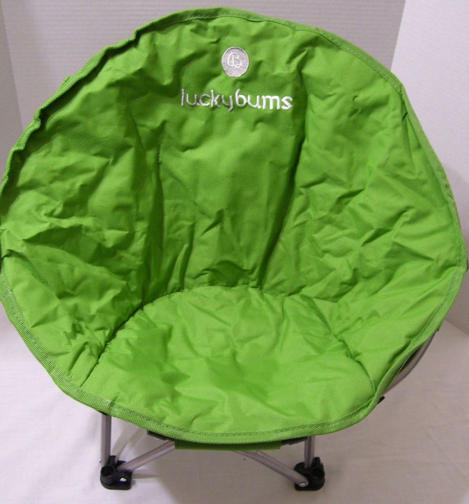 Camping Lucky Bums Moon Chair Youth Small Beach Picnic