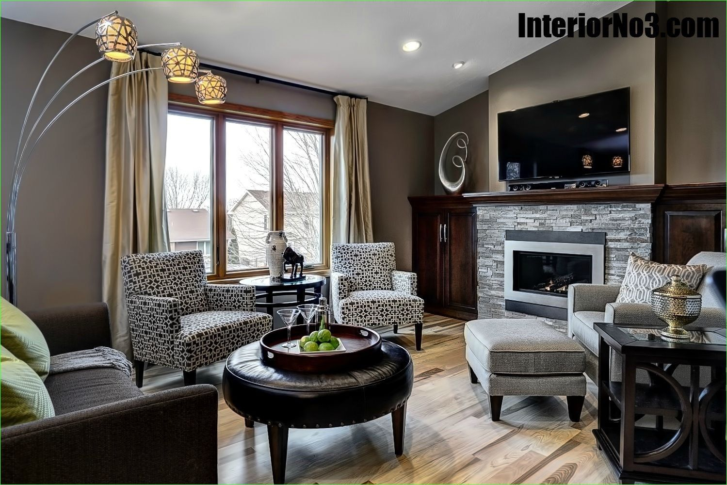 6 Fresh Modern Split-level Living Room Design - Daily Home List