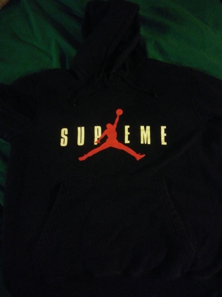 ddf7d8f3c424 Supreme jordan hoodie in 2018 Activewear Pinterest Active wear