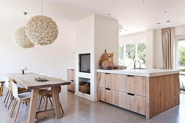Cocinas contemporáneas en madera | Cocina | Pinterest | Cocina ...