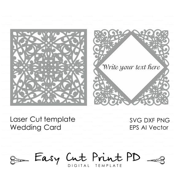 Lace wedding invitation card template folds svg dxf dwg ai lace wedding invitation card template folds svg dxf dwg ai eps stopboris Choice Image