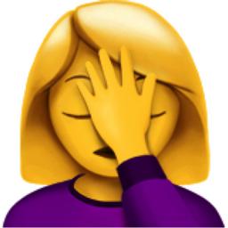 The Woman Facepalming Emoji On Iemoji Com Emoji Emoji Pictures Brush My Teeth