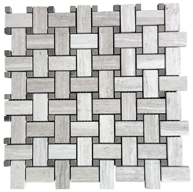 10 95 A Square Foot White Oak Limestone Marble Basketweave Mosaic Honed Finish Floor And Wall Tile Free Shipping Thru December
