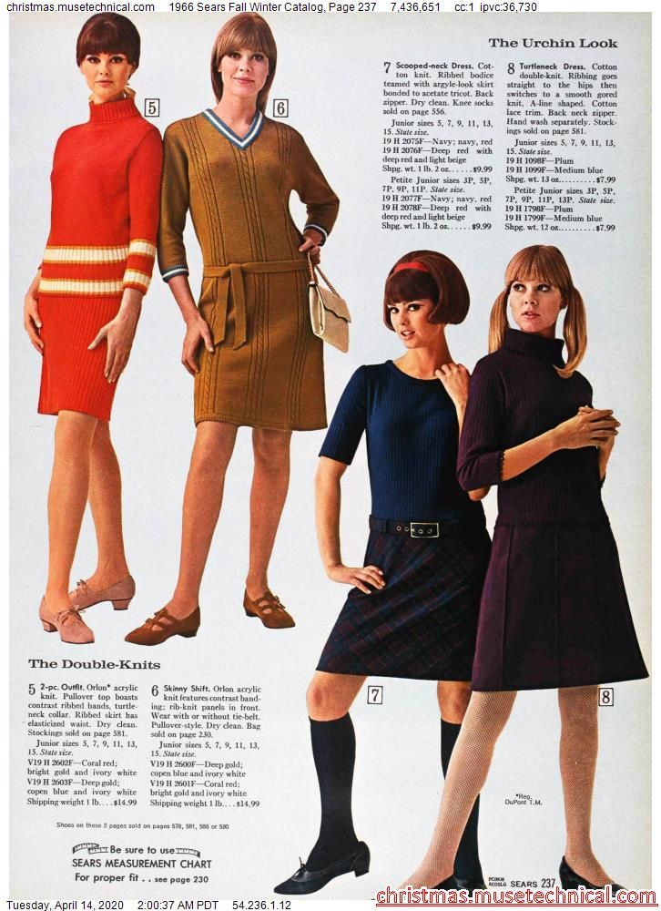 1966 Sears Fall Winter Catalog, Page 237 - Christm
