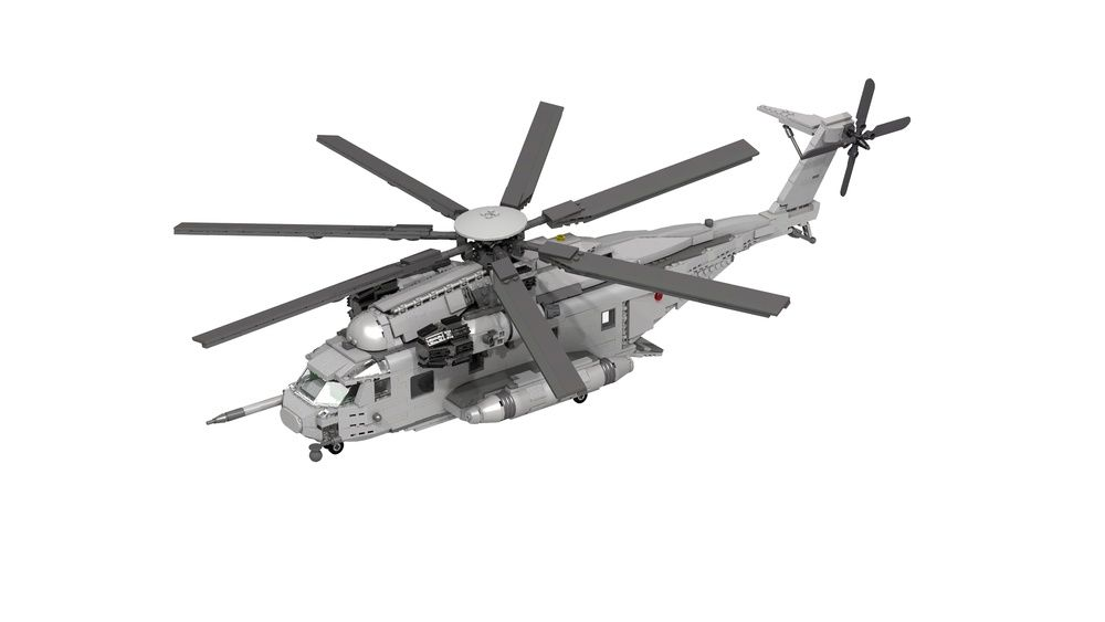 Lego Moc Moc 10505 Ch 53 Super Stallion Building Instructions And