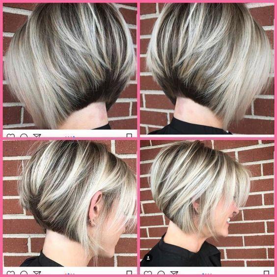 42+ Süße kurze Bob-Frisuren für Frauen im Jahr 2019-   Kurze Bob-Haarschnitte… ##Frisuren #frauen #haarschnitte #kurze #hairstylesforthinhairfine