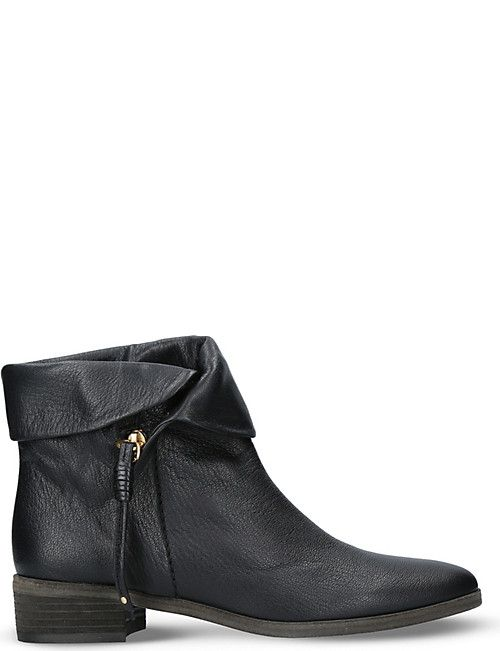 4deaa91360 SEE BY CHLOE Masha leather ankle boots | AW18 footwear trends ...