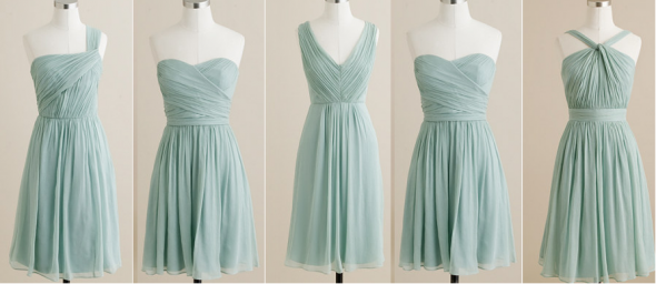 """What do you think of these BM dresses? will they look """"off""""? « Weddingbee Boards"""