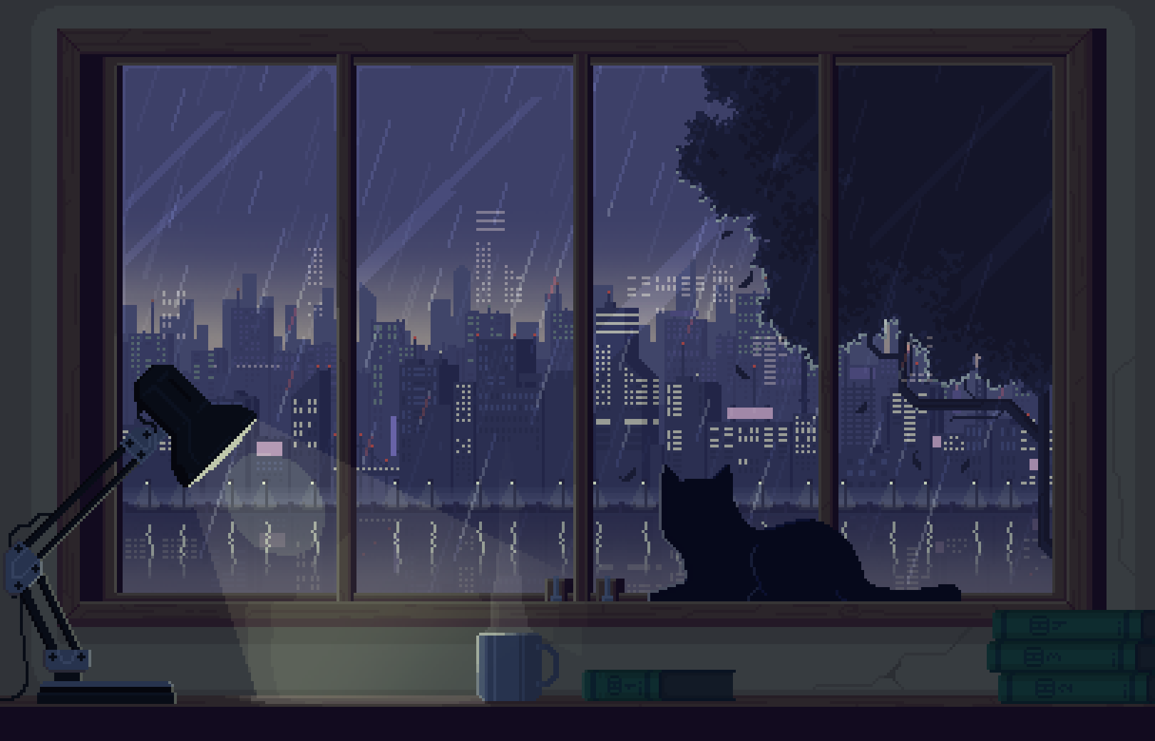 Pin By On Pixel Art Aesthetic Desktop Wallpaper Anime Scenery Wallpaper Desktop Wallpaper Art
