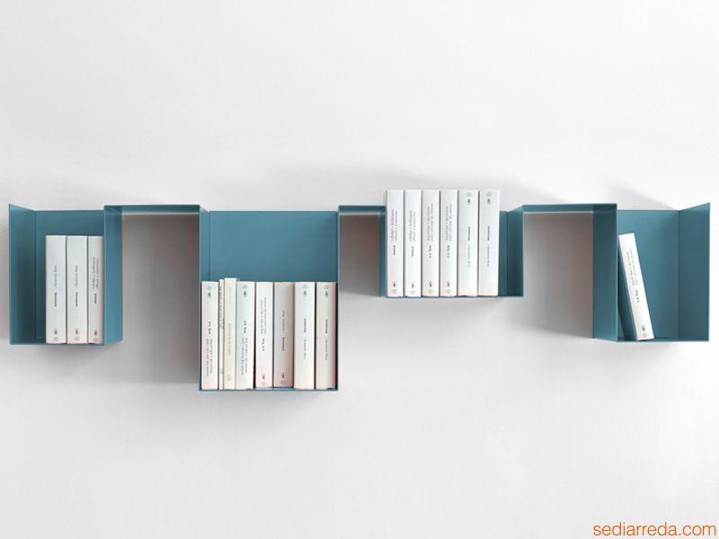 Spread design metal bookshelf memedesign furniture