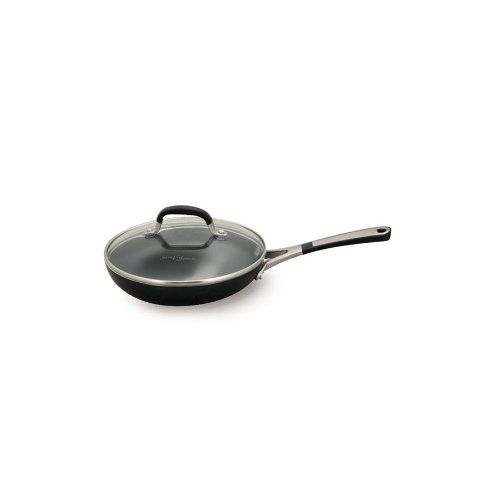 Simply Calphalon Enamel 8 Inch Covered Omelette Pan Black Calphalon Omelette Pan Omelette