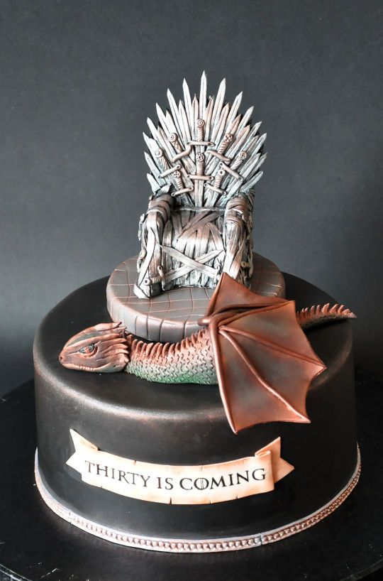 Birthday And Wedding Cake Ideas Game Of Thrones Love The Polished Look With Perfectly Aged Textures