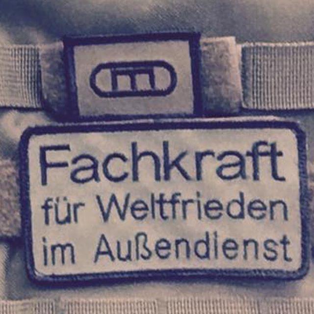 Geilster Patch überhaupt Bundeswehr Bund Soldat Heer Luftwaffe