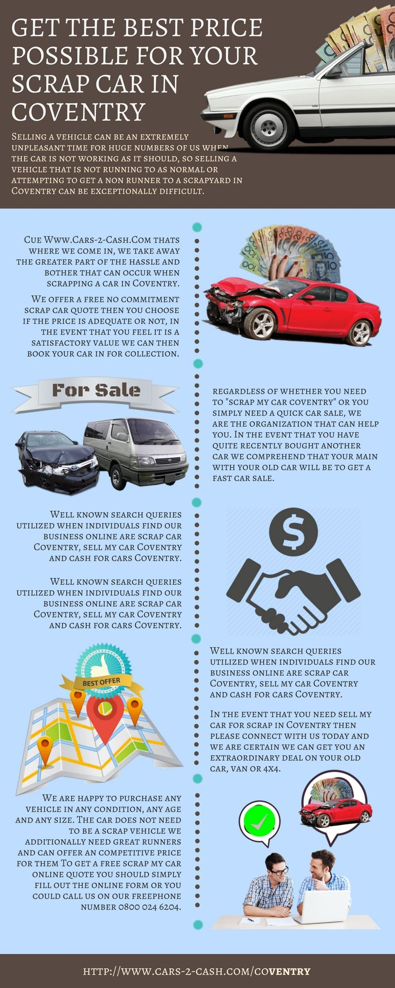 We offer a free no commitment scrap car quote then you choose if the ...