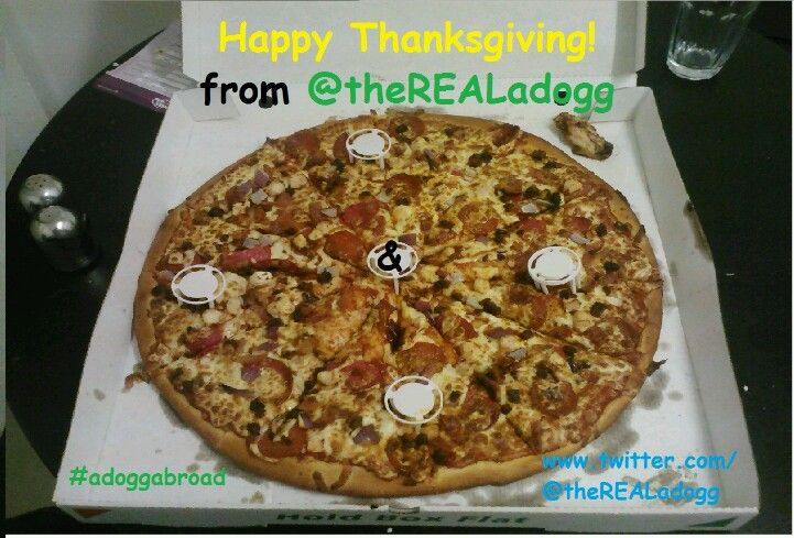 Happy Thanksgiving from #adoggabroad