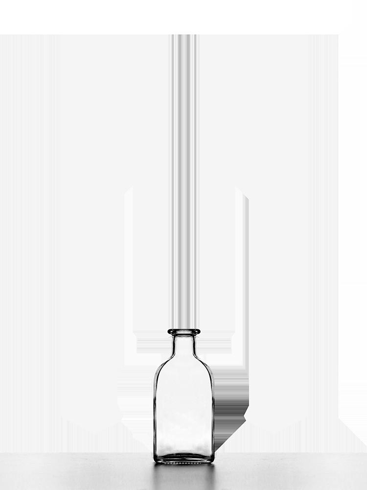 Quadrina Glass Bottles Bottle Liquor
