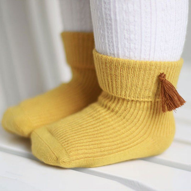 Click To Buy 0 3years Cute Baby Socks Kids Boys And Girls Solid