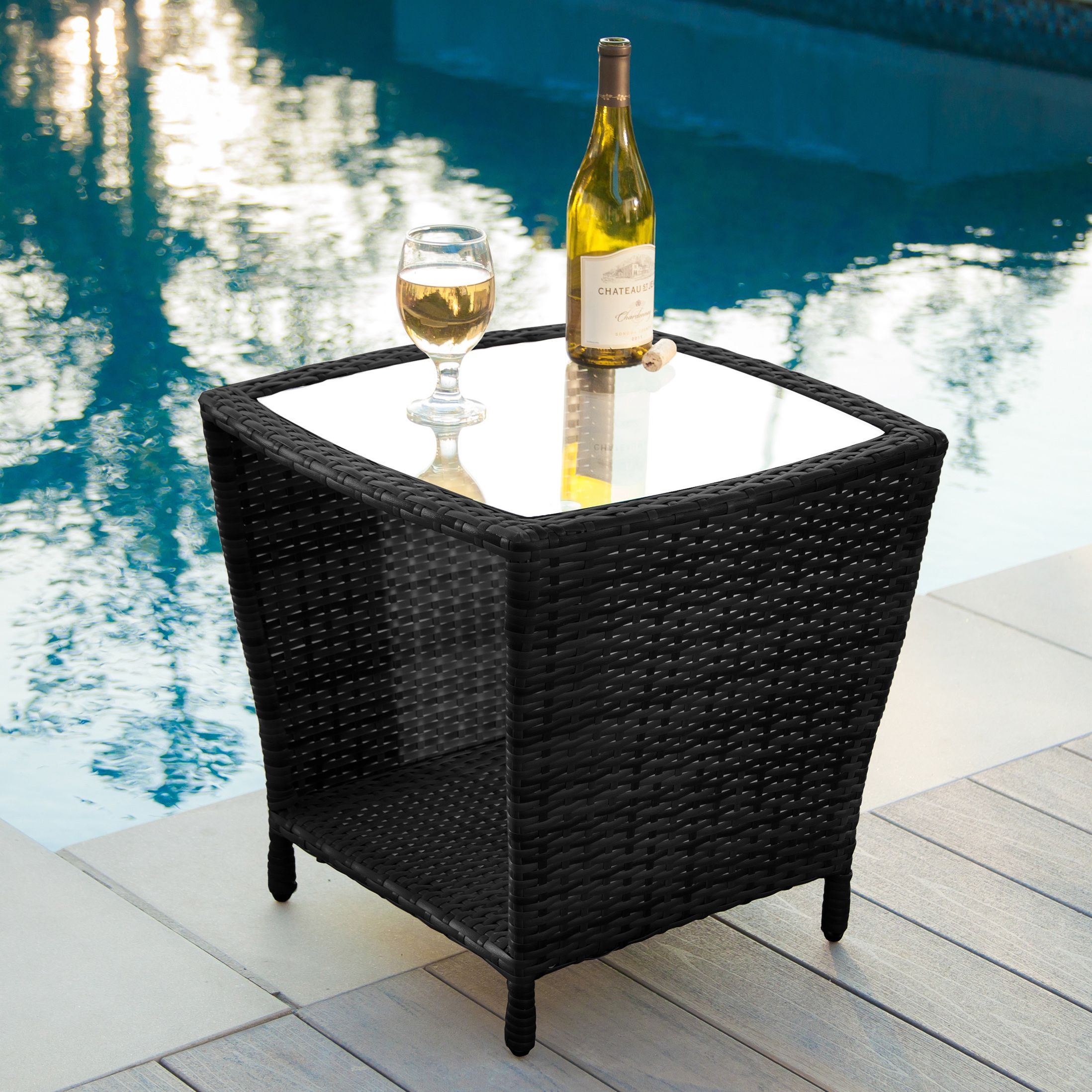Overstock Com Online Shopping Bedding Furniture Electronics Jewelry Clothing More Wicker Side Table Outdoor Side Table Outdoor Wicker