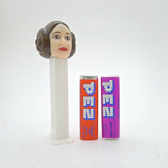 Star Wars Princess Leia, Carrie Fisher PEZ Dispenser.