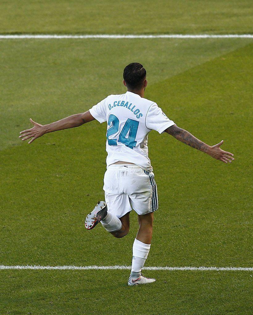 Dani Ceballos Real Madrid Vs Alaves Real Madrid History Real Madrid Football Real Madrid Football Club