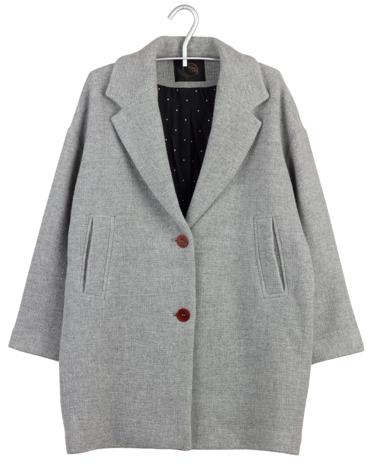 Manteau oversize Gris by DES PETITS HAUTS   manteaux   Jackets, Coat ... 8925879a4289