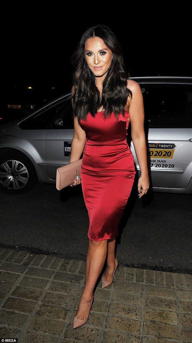 Vicky Pattison Enjoys Double Date With Stacey Solomon