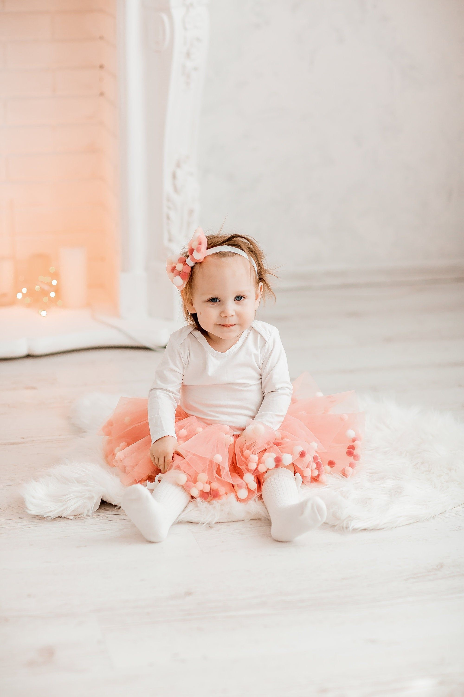 Baby tutu smash cake tutu infant tutututu blush pink