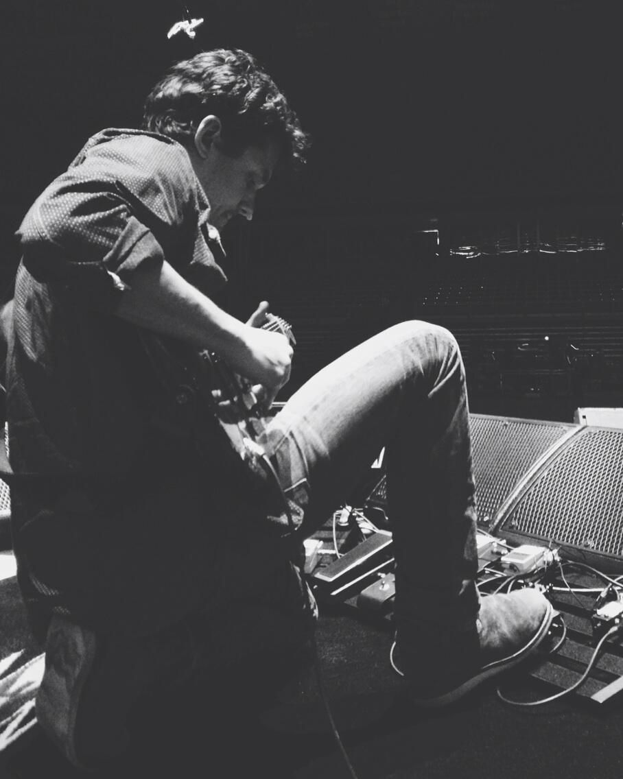 Twitter / JohnMayer: Guitar and pedals. Time to jam...