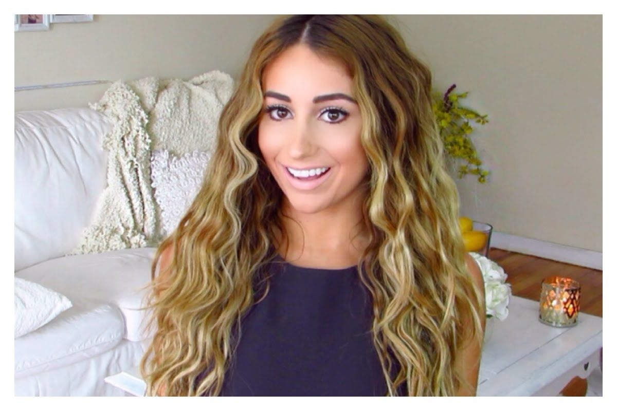 Messy Waves My Everyday Hairstyle Using A Deep Waver Everyday Hairstyles Hair Crimper Hairstyle