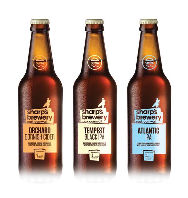 Sharp's Brewery Rebrand Part 2 by Tom Bourke, via Behance