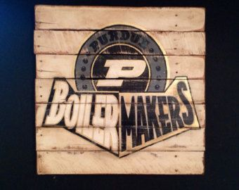 Purdue Decor On Etsy A Global Handmade And Vintage Marketplace Purdue Purdue Boilermakers Purdue University