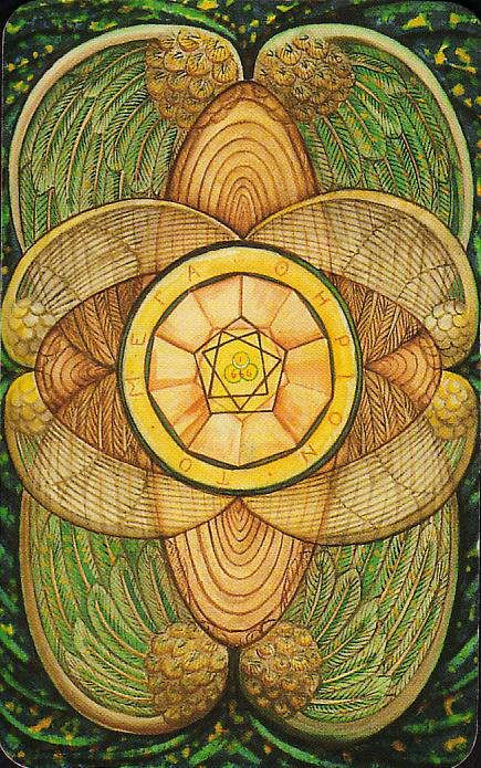 Thoth Fortune Tarot Card Tutorial: Ace Of Disks (Pentacles) Tarot Card- Crowley-Thoth Tarot
